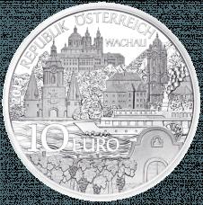 10-Euro-Münze 2013 Niederösterreich Avers