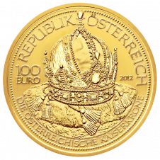 Goldmünze Kaiserkrone