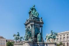 Maria Theresia Denkmal in Wien