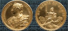 Medaille auf die Weisheit und die Kriegserfolge Maria Theresias