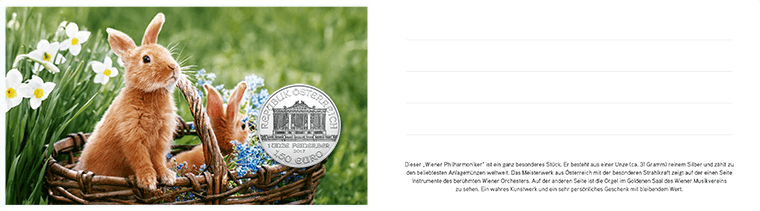 Blister Wiener Philharmoniker Osteredition