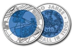 Silber-Niob-Münze